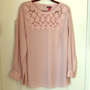 Blush Vince Camuto blouse